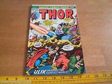 Thor 211 Bronze Age 1970's comic VG+ Ulik