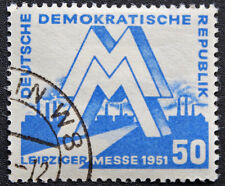 ALLEMAGNE RDA - timbre Yvert et Teliier n°35 obl - stamp Germany (cyn4) (A)