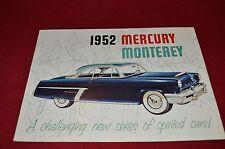 Mercury Monterey For 1952 Dealer's Brochure GDSD