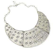 Ethnic Tribal Egyptian Pharaoh Cleopatra Collar Necklace w/ Swarovski Crystals