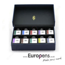 Diamine Music Fountain Pen 30ml Bottled Ink Set (10 Colours) Famous Composers