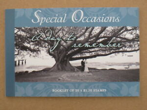 Complete set of 7 2008 Special Occasion Prestige Booklets