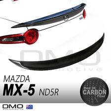Mazda MX-5 Miata ND / RF 2015-on OKAMI G Duck tail Rear Spoiler Carbon Fiber