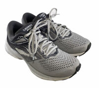 Brooks Womens Launch 5 1202661B178 Gray Black Running Shoes Lace Up Size 8.5 B