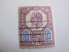 timbre ancien postage & revenue GB 5d 1902 Edward