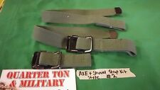 Jeep Willys MB GPW M38 Shovel & Axe strap kit #2