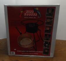 New Metal Fusion Inc King Kooker Model 94Pkp Portable Outdoor Cooker Nos