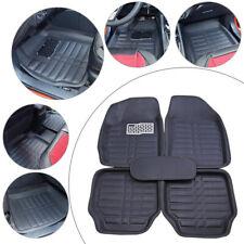 5pc Waterproof Universal Car Auto Floor Mat Liner Front Rear Set Carpet Non-slip