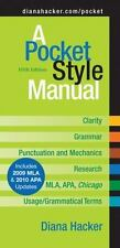 A Pocket Style Manual with 2009 MLA and 2010 APA Updates by Diana Hacker (2010,…