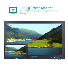 "13"" 1920x1080 IPS LCD Display CCTV USB HDMI/VGA Input Surveillance PC Monitor"