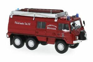 Steyr Puch Pinzgauer 712K 6x6 Feuerwehr Mürnsee - 1:43 Neo