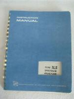 Original Tektronix Service Manual Instruction Manual Type 1L5 Spectrum Analyzer