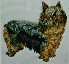 Australian Silky Terrier Dog Bathroom Set 2 Hand Towels Embroidered Personalized
