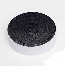 5CM*15M Self Adhesive Glue Black Felt Tape For Squeegee Replacement Suede Felt