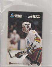 1980 81 Colorado Rockies Yearbook/Media Guide Don Cherry Beck Lanny McDonald