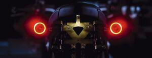 Kellermann Bullet 1000 Df LED Indicator Brake Light Rear Black 3in1 Signals