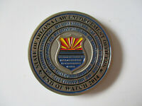 State of Arizona Law Enforcement Officers Emerald Watch Police Challenge Coin