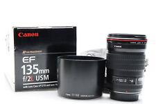 Canon EF 135mm f2 L USM Lens #432