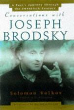 Conversations With Joseph Brodsky: A Poets Journey
