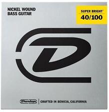 Jim Dunlop super lumineux nickel wound bass strings-light 40-100