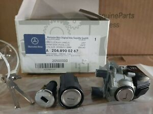 Mercedes C & GLK W204 keys & locks kit
