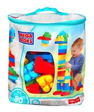 Mega Bloks 80 Piece Bag Kids Builders Blocks Children Toys Play Building Classic