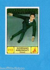 CAMPIONI d. SPORT 1968/69-PANINI-Figurina n.212-ABBONDATI-ITALIA-PATTINAGGIO-Rec