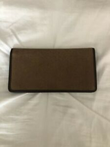 Genuine Leather Suede Checkbook Cover NEW!!!