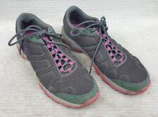 Columbia Women's Firecamp Mesh Hiking Shoes Coal/Fuchsia Size 9.5 Excellent