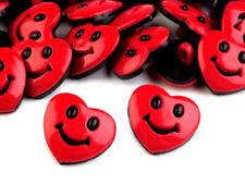 Knöpfe 10 Stück Motivknöpfe Kinderknöpfe Button Herzen