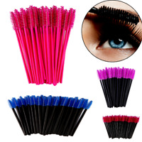 Disposable Eyelash Brush Wands Makeup Applicator Brushes Eye Lash 50pcs Colors