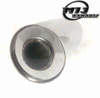 "Universal Exhaust Silencer 5"" x 3"" x 24"" Resonator Stainless Steel 304 Back Box"