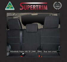 SEAT COVER Mitsubishi Pajero REAR 100% WATERPROOF PREMIUM NEOPRENE
