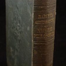 Antiquarian Book CONVERSATIONS ON NATURAL PHILOSOPHY by Mrs. Marcet 9th Ed. 1839