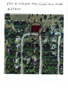 Land for sale In Crystal River  Florida  0.67 acre