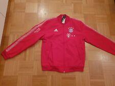 FC Bayern München matchworn Anthem Jacke Pre Match Jacke Adidas Sponsoren Triple