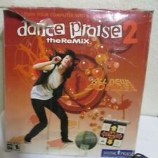 DANCE PRAISE 2, THE REMIX  PC Christian game / game disc and dance pad