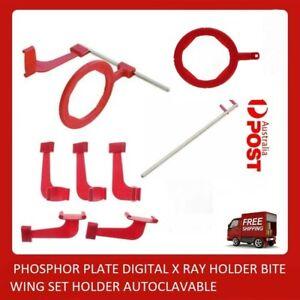 DENTAL PHOSPHOR PLATE DIGITAL X RAY HOLDER BITE WING SET HOLDER AUTOCLAVABLE