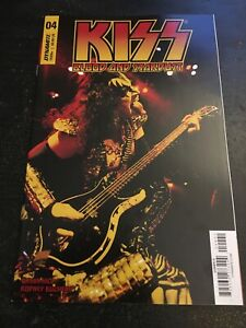 """Kiss:Blood And Stardust#4 Incredible Condition 9.4(2019)""""Simmons Photo Variant """""""