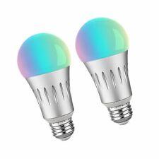 2 Pack Brizled PTBW10 Led 7W Wifi Smart Bulb RGB White 2700 6000k E26