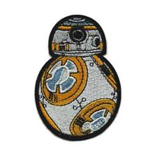 "BB-8 IRON ON PATCH 3.25"" Embroidered Applique Star Wars Force Awakens BB8 Droid"