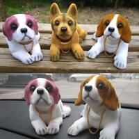 Car Styling Cute Dog Doll Shaking Head Nodding Dog For Car Decoration Ornaments