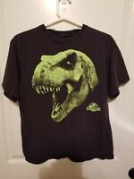 Jurassic Park TRex Head CHILD T-Shirt BLACK 100% COTTON XL FREE SHIPPING