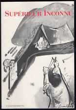Supérieur Inconnu, n° 2. Janvier-Mars 1996. A. Jouffroy, C. Duits, J. Hérold...