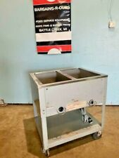 """"""" Duke """" 2 Well Waterless Mobil Food Warmer With Sectional Infinite Controls"""