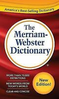 The Merriam-Webster Dictionary (Paperback or Softback)