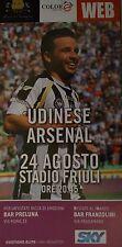 Programm Stadio UEFA CL 11/12 Udinese Calcio - Arsenal FC