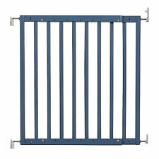 """New listing Primetime Petz Safety Mate Expandable Pet Safety Gate, Skyblue, 40.7"""" L X 1"""" W X"""