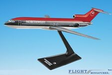 Northwest (89-03) 727-200 Airplane Miniature Model Plastic Snap-Fit 1:200