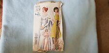 "Wedding Dress Pattern Vogue 4244 Rare Vintage Sewing Pattern Size 18 Bust 38"""